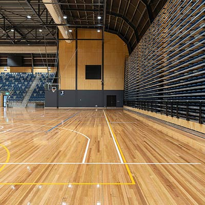 Bendigo Indoor Sports Stadium Timber Flooring
