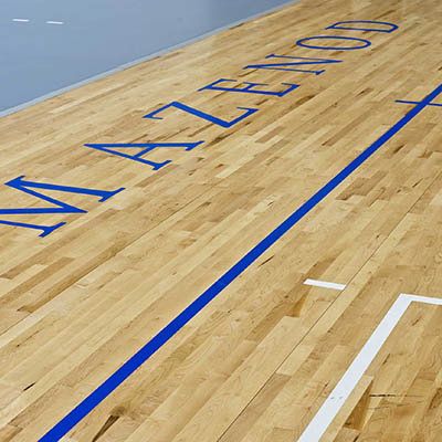 Netball Basketball Multipurpose Court at Mazenod College School